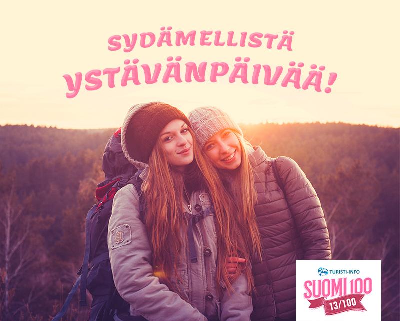 Turisti-Info ystävänpäivä