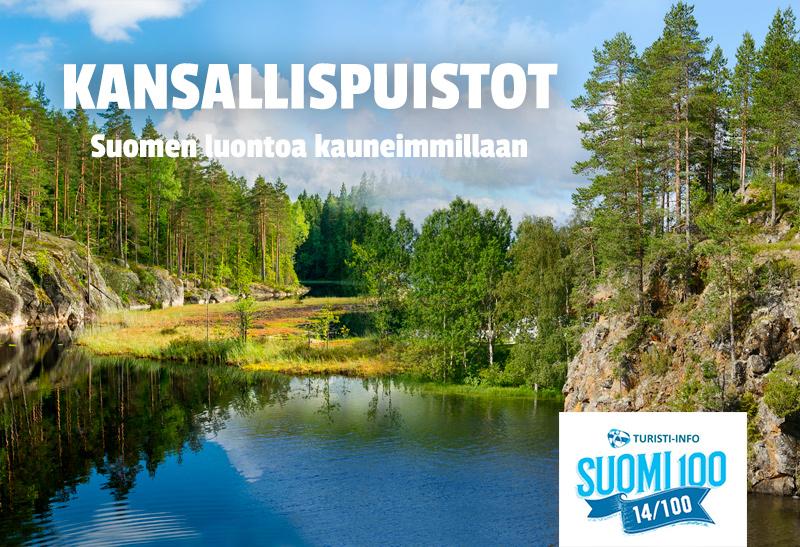 Turisti-Info Suomen kansallispuistot