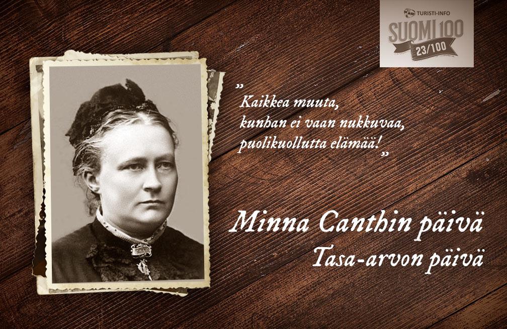 Turisti-Info - Minna Canth