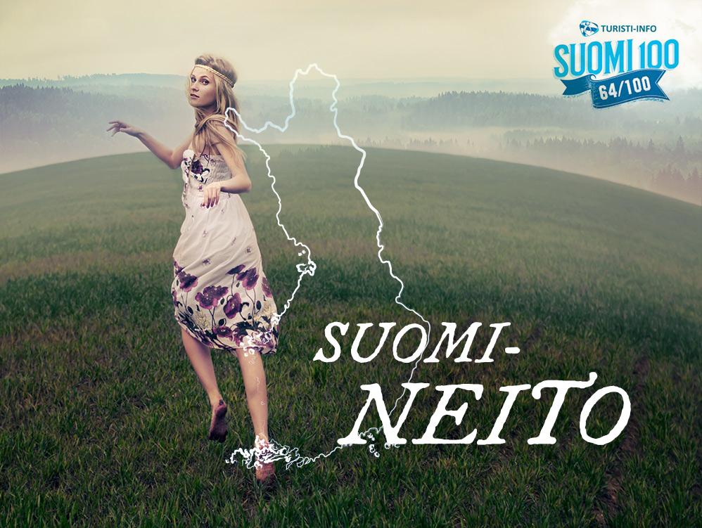 Turisti-Info Suomi-neito