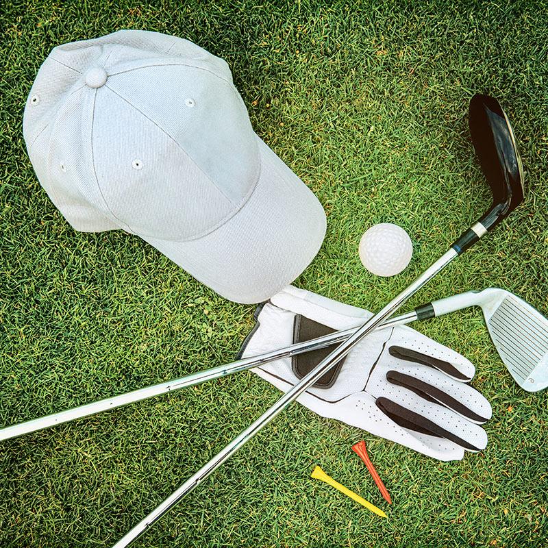 Turisti-Info golf varusteet