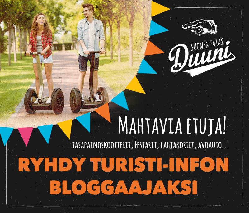 Ryhdy Turisti-Infon bloggaajaksi