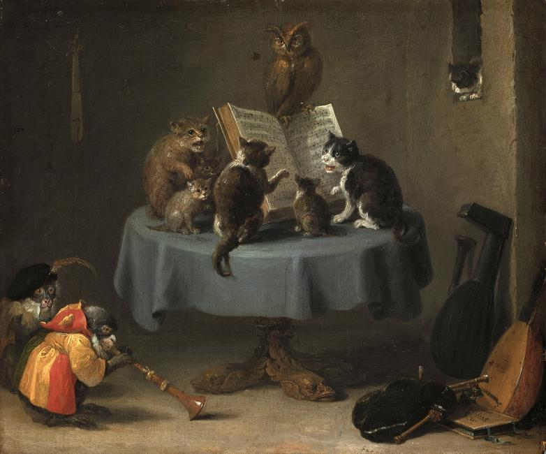 Kuva: David Teniers nuorempi (1610-1690) - Kissojen konsertti