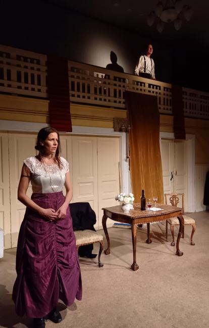Neiti Julie -näytelmä. KUVA: RAAHEN TEATTERI