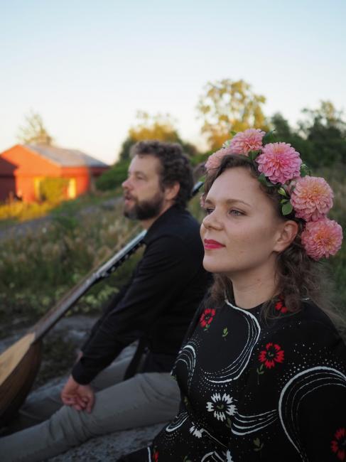 Mikko Ikäheimo ja Helianna Herkkola (Kuvaaja: Marika Maijala)